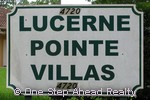 sign for Lucerne Pointe Villas