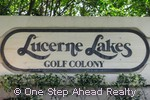sign for Golf Colony Condos