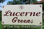 sign for Lucerne Greens Condos