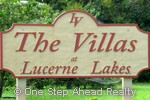 sign for The Villas at Lucerne